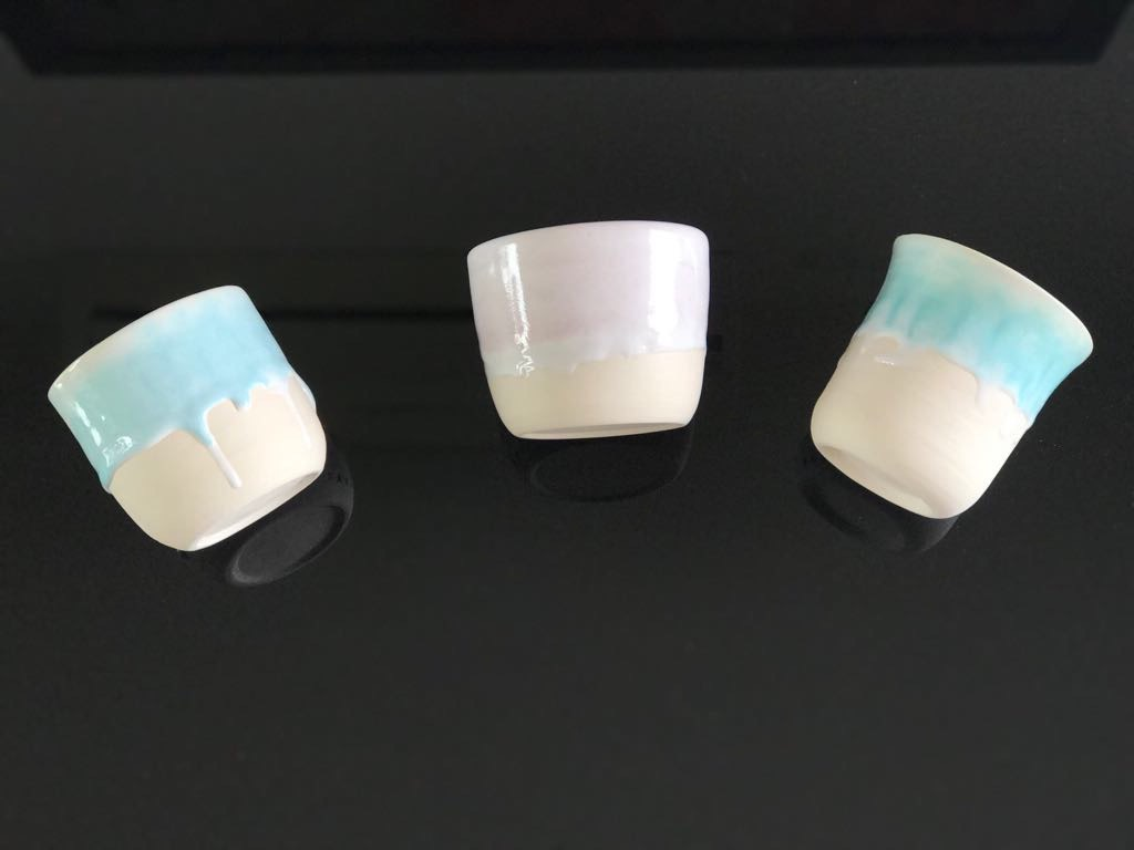 陶瓷班製作茶杯- hapife